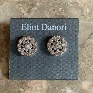 NWT ELIOT DANORI crystal studded stud earrings